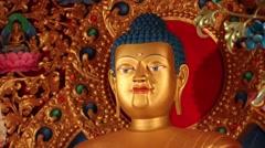 Stock Video Footage of Kagyu Samye Ling Monastery and Tibetan Centre - Buddha