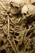 Ancient grave - stock photo