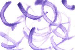 Watercolor background violet arc - stock illustration