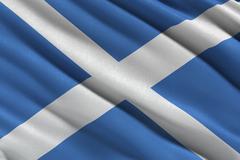 Saltire flag of Scotland Piirros