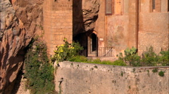 AERIAL Italy-Palatine Hill Stock Footage