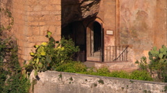 AERIAL Italy-The Forum Stock Footage