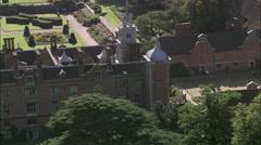 AERIAL United Kingdom-Blickling Hall Stock Footage