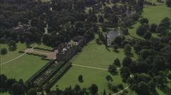 AERIAL United Kingdom-Sandringham Stock Footage
