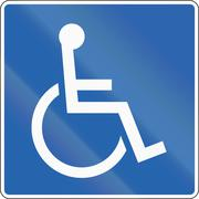 Stock Illustration of Disabled In Iceland