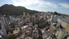 Aerial View of Catedral Metropolitana de Vitoria in Espirito Santo, Brazil - stock footage