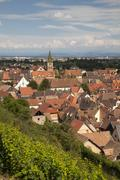 Stock Photo of Townscape Turckheim Alsace France Europe