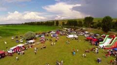 Linden tree festival Stock Footage