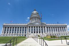 Stock Photo of Utah State Capitol Building, Salt Lake City