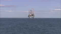 AERIAL United Kingdom-Cromarty Firth Stock Footage
