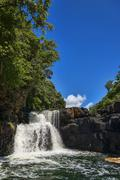 Stock Photo of Waterfalls of the Grand River South East Mauritius Africa