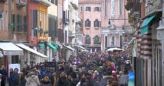 Daily Life of Venice, Italy Stock Footage