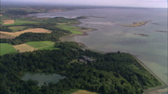 AERIAL United Kingdom-Stuart Stock Footage