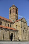 Stock Photo of Romanesque parish church of St Peter and Paul Rosheim BasRhin Alsace France