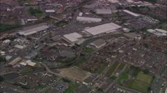 AERIAL United Kingdom-Blackburn Stock Footage
