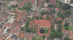 AERIAL Germany-Schleswig Stock Footage