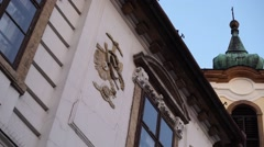 Church in Szentendre, Hungary Stock Footage