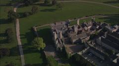AERIAL United Kingdom-Kinmel Park Stock Footage