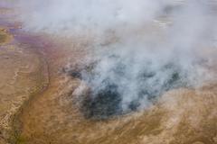 Stock Photo of Steam sources at the Tatio geysers San Pedro de Atacama Antofagasta Region