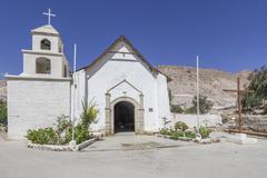 Stock Photo of Church Codpa Arica y Parinacota Region Chile South America