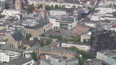 AERIAL Germany-Dortmund Stock Footage