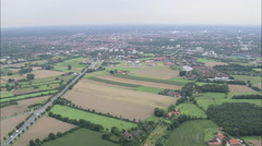AERIAL Germany-Munster Stock Footage