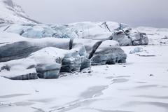 Stock Photo of Skaftafellsjokull glacier Skaftafell National Park Eastern Region Iceland Europe