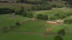 AERIAL United Kingdom-Whipsnade Zoo Stock Footage
