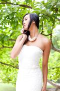 Stock Photo of attractive young asian woman beauty portrait