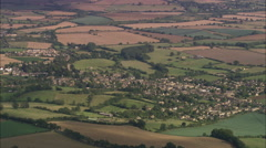 AERIAL United Kingdom-Chipping Campden Stock Footage