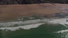Watergate Bay Stock Footage
