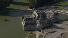 ChaTeau De Chantilly Stock Footage