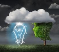 Business Idea Stock Illustration