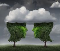Cloud Relationdship Stock Illustration