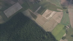 AERIAL France-Civaux Nuclear Power Plant Stock Footage