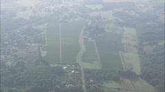 AERIAL France-Rural Landscape Stock Footage