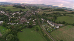 Lynton Above Lynmouth Stock Footage