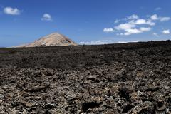 Lava field volcanoes Fire Mountains volcanoes Lanzarote Canary Islands Spain Kuvituskuvat