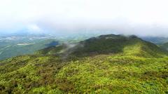El Yunque National Forest Puerto Rico - stock footage