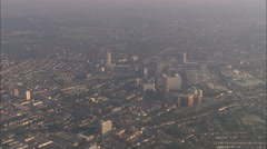 AERIAL United Kingdom-Croydon Stock Footage