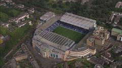 AERIAL United Kingdom-Chelsea Fc Stock Footage