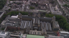AERIAL United Kingdom-Natural History Museum Stock Footage