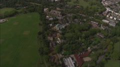 AERIAL United Kingdom-Buckingham Palace Stock Footage