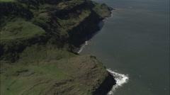 AERIAL United Kingdom-Round Hill Trig Point On Urra Moor - stock footage