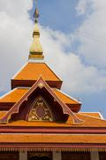 Design of asian temple roof Stock Photos