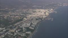 AERIAL Spain-Marbella Stock Footage