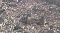 Granada Cathedral Stock Footage