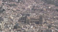 Granada Cathedral Stock Footage