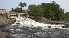 Moon River Falls - Segment 1 Stock Footage