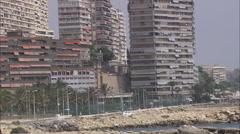 AERIAL Spain-Rising Over Cabo De Las Huertas Stock Footage